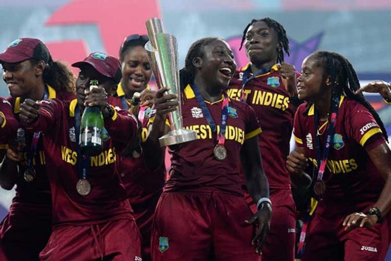 It was the first win in nine games for the West Indies against Australia, which was looking for a fourth straight title. (Getty Images)