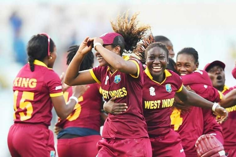 Powerful half-centuries from Hayley Matthews and skipper Stafanie Taylor fired the West Indies to their maiden World Twenty20 crown in a thrilling last-over win against Australia in Kolkata. (Getty Images)