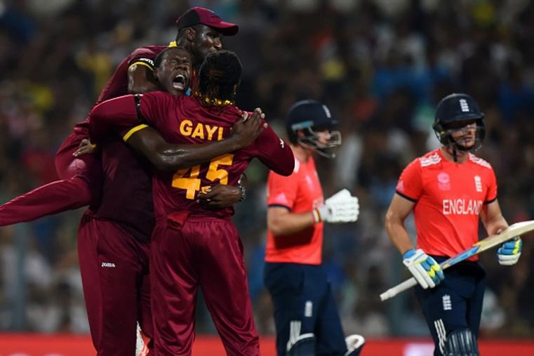 Chasing 156 to win, West Indies reached the target in 19.4 overs to become the World T20 winners for the second time. (Getty Images)