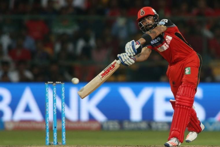 RCB skipper Virat Kohli made 54 runs but failed to complete his 1, 000 runs in the season. (BCCI)