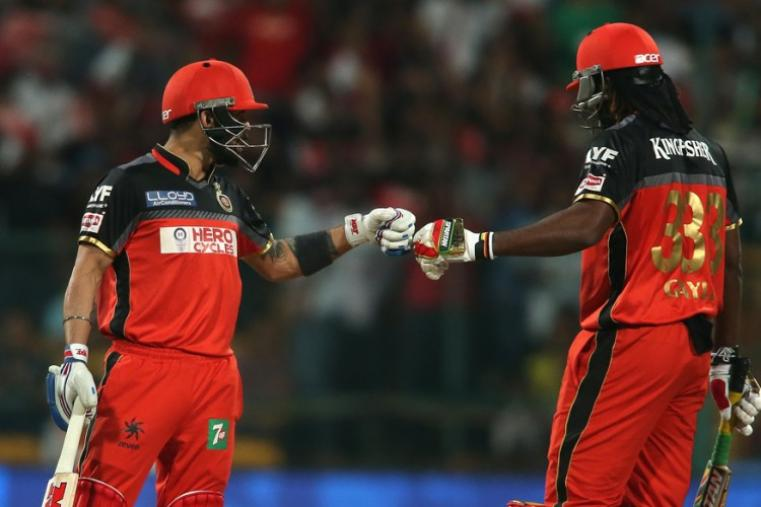 Gayle had a 114-run opening stand with Kohli and at one stage RCB were in complete control of the match. (BCCI)