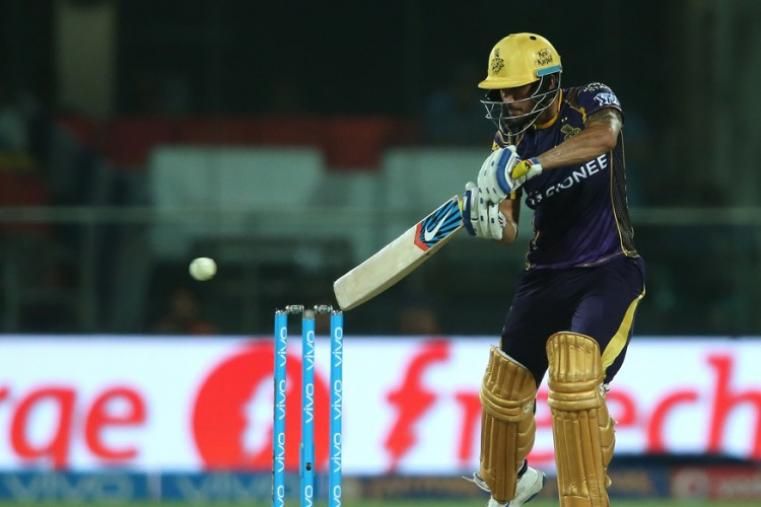 Manish Pandey scored 28-ball 36 to show some fight but KKR lost the match by 22 runs. (BCCI)