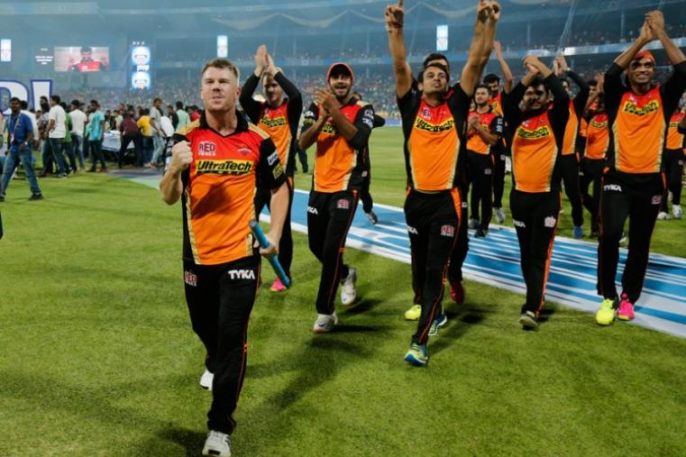 Sunrisers Hyderabad kept their nerves to beat Royal Challengers Bangalore by 8 runs to lift their maiden IPL title on Sunday at the M Chinnaswamy Stadium in Bengaluru.