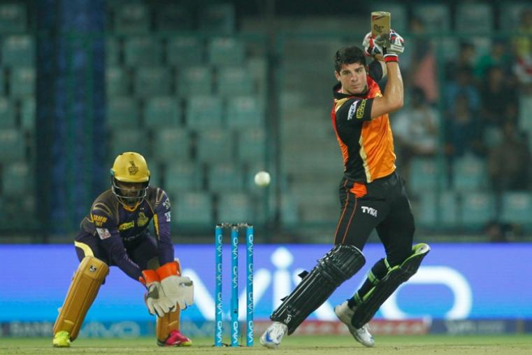Moises Henriques made 31 runs and had a solid stand with Warner. (BCCI)