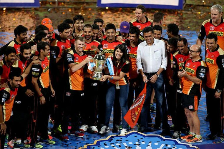 Owned by Kalanithi Maran of the Chennai-based Sun television network, Sunrisers replaced Deccan Chargers, whose franchise was terminated by IPL in 2012. (Photo Credit: BCCI)