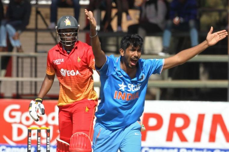Jasprit Bumrah was the pick of the bowlers for India and he took four wickets. (AP)