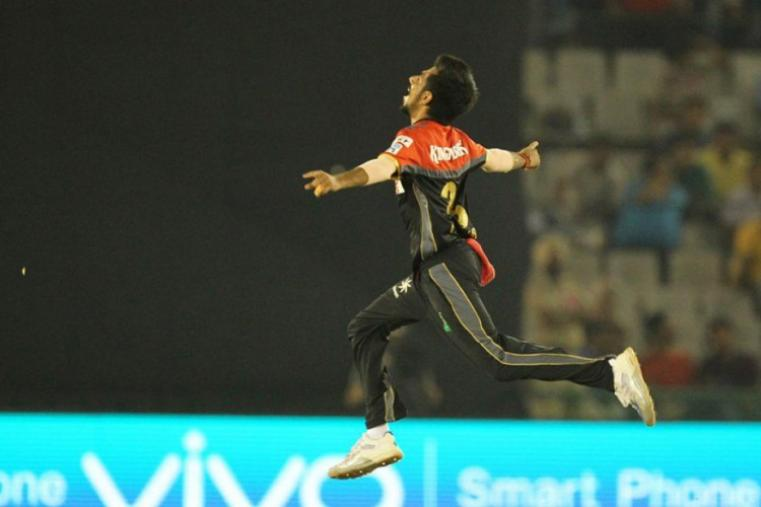 Yuzvendra Chahal finished as the second highest wicket-taker in IPL 2016 behind Bhuvneshwar Kumar. He took 21 wickets from 13 matches and was a key player in RCB's turnaround. (BCCI)