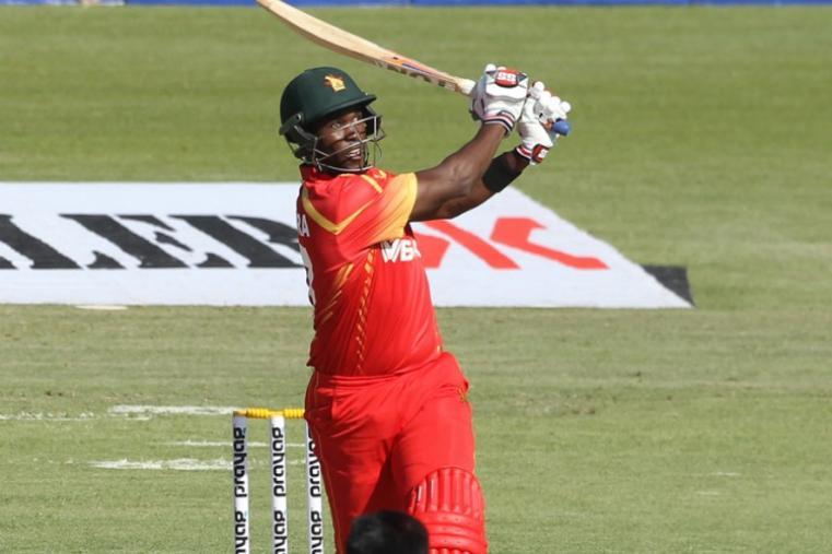 Elton Chigumbura scored a brilliant 54 off just 26 balls with seven sixes. (AP)