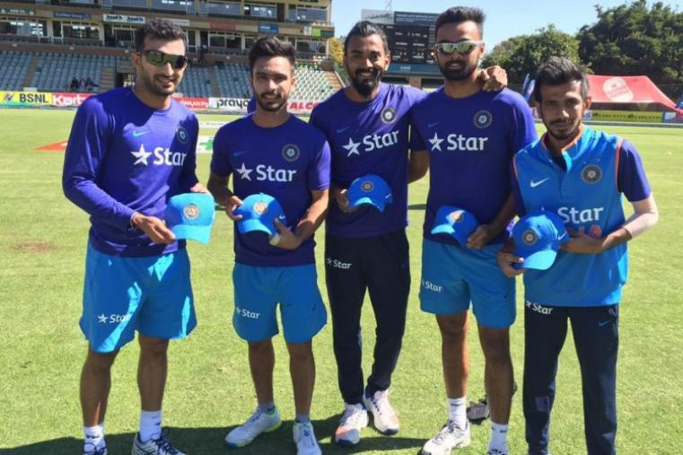 Five Indian players made their T20 international debut against Zimbabwe. (BCCI)