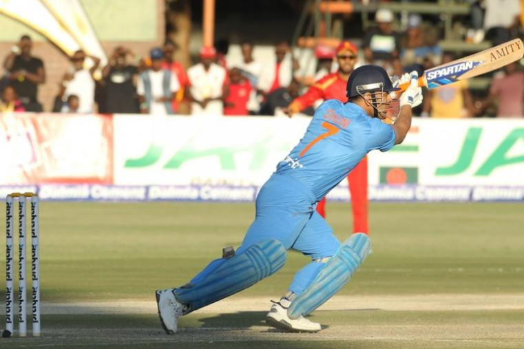 MS Dhoni scored an unbeaten 19 off 17 balls but failed to take India to victory. (AP)