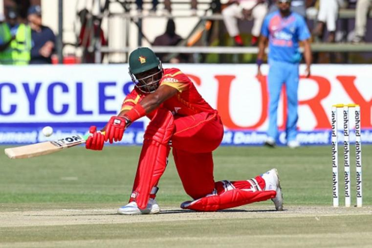 Hamilton Masakadza made 15-ball 25 and had a solid opening stand with Chamu Chibhabha (20). (Getty Images)