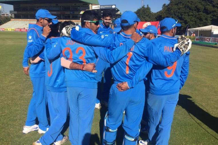Indian bowlers took control in the 33rd over and took four wickets in quick succession to derail the Zimbabwe innings. (BCCI)