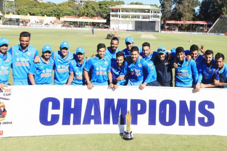 India made a brilliant return to the one-day cricket format as they completed a hat-trick of whitewashes against a struggling Zimbabwe side with comprehensive 10-wicket win in the last match of the three-match ODI series at the Harare Sports Club. (AP Photo)