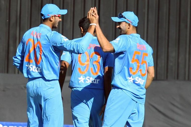 India made a good comeback with quick wickets but Zimbabwe posted 170/6 in 20 overs. (Getty Images)