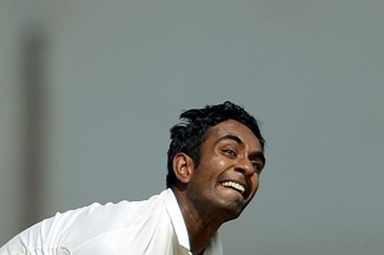 The 26-year-old Haryana offspinner, Jayant Yadav, has 110 first-class wickets from 40 matches. (Getty Images)
