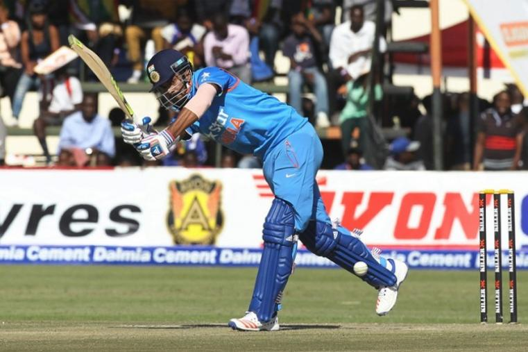 KL Rahul score a magnificent ton on debut as India registered a comfortable nine-wicket victory over Zimbabwe in their opening ODI match. (AP Photo)