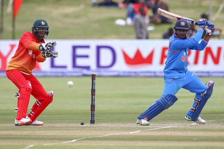 It was Ambati Rayudu who starred in India's run chase with a match-winning 41 off 44 balls.  (Photo Credit: Getty Images)