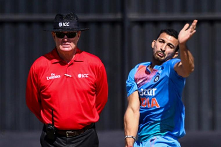 Rishi Dhawan was not very economical and gave away 42 runs in 4 overs. (Getty Images)