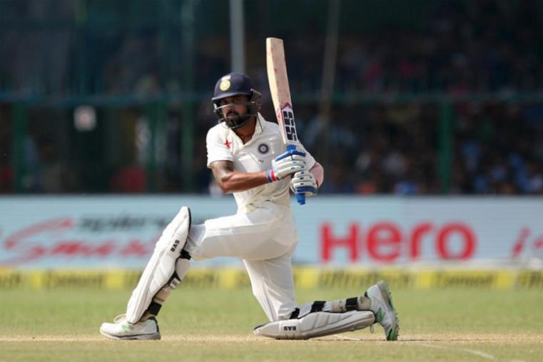 Cheteshwar Pujara top-scored for the hosts with 78 and his 133-run second-wicket partnership with Murali Vijay (76) was the highlight of the innings. (BCCI Photo)