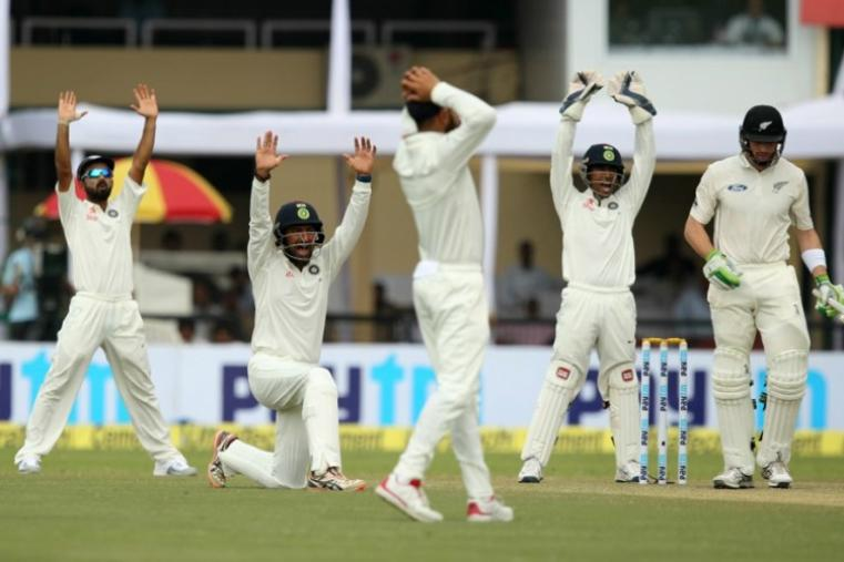 India players unsuccessfully appeals during the match. (BCCI Photo)