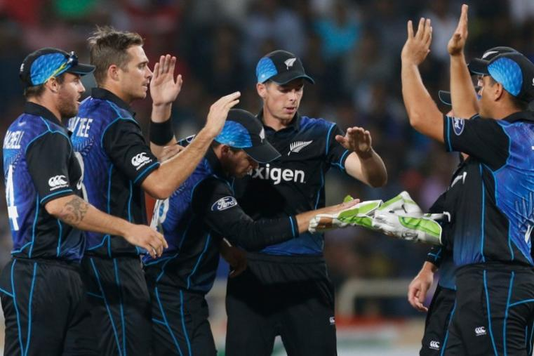 Tim Southee was the top wicket-taker of the match. He took three wickets and gave away just 40 runs in 9 overs. (AP)