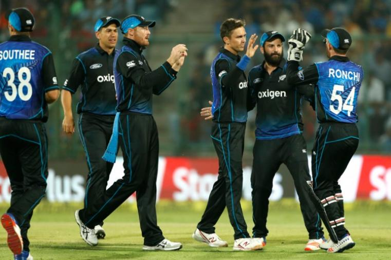 New Zealand bowlers kept taking wickets at regular intervals to derail the Indian innings. (AP)