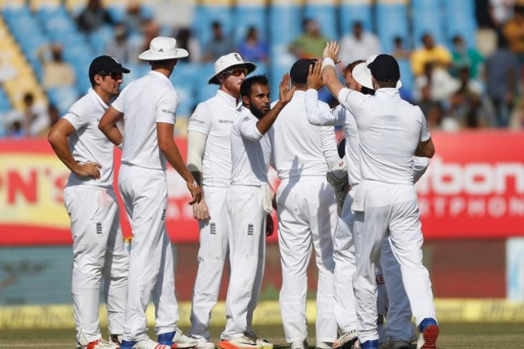 Leg-spinner Adil Rashid, who picked up four wickets in the first innings, took another three as the hosts were reduced to 71 for four shortly after tea. (Image credit: AFP)