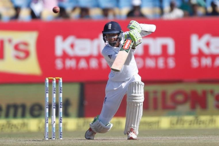 Haseeb Hameed, 19, belied his tender years in making 82 off 177 balls that contained one six and seven boundaries. (Image credit: AFP)