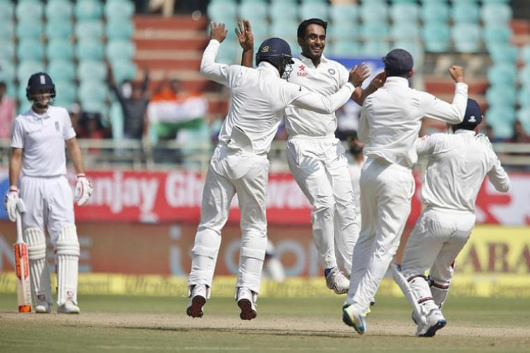 Jayant Yadav castled Ben Stokes for paltry 6. (AFP Photo)
