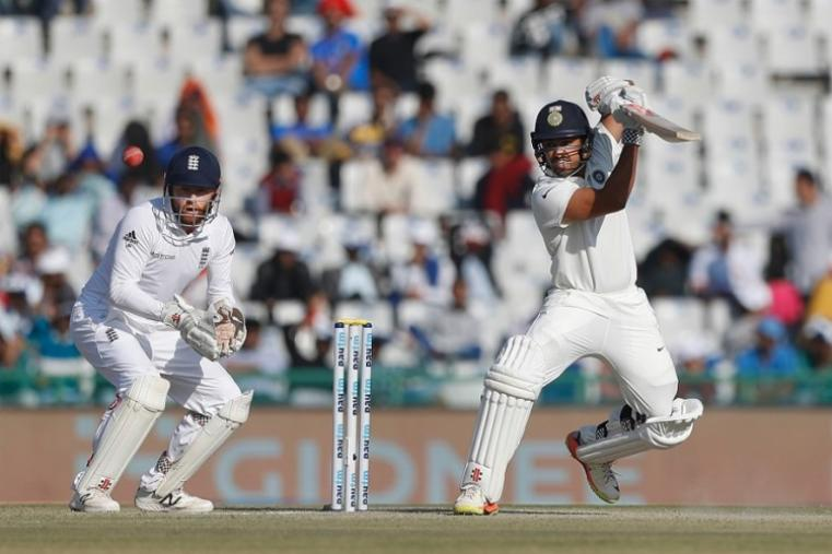 Debutant Karun Nair scored just 4 runs before being run out by Jos Buttler. (AFP Photo)