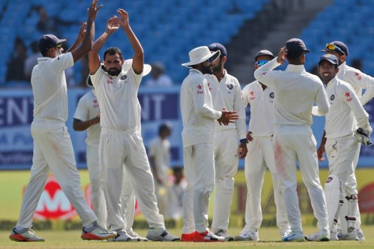 Mohammed Shami claimed 2 wickets. (AFP Photo)