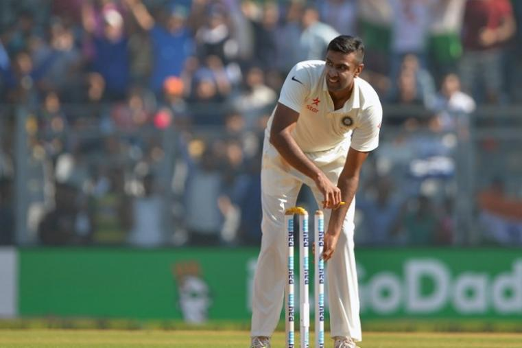 Star off-spinner Ravichandran Ashwin dismantled England, picking up 6-55 in the second innings to take 12 wickets in the match. (AFP Photo)