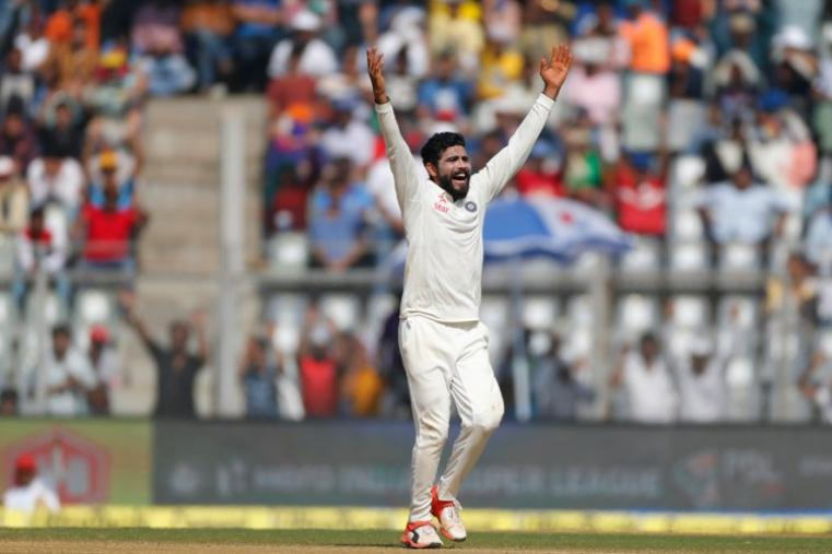Ravindra Jadeja claimed three wickets on the opening day of the fifth Test. (AP Photo)