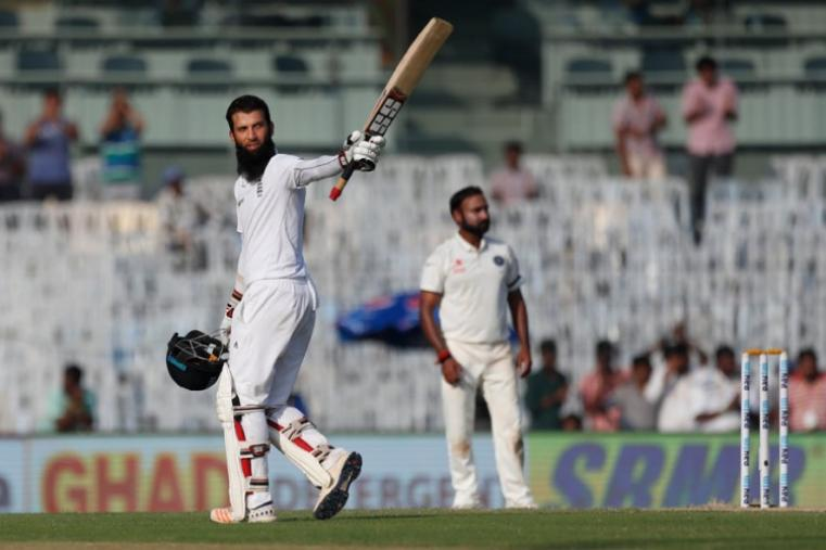 Moeen Ali notched up his fifth Test century. (AP Photo)