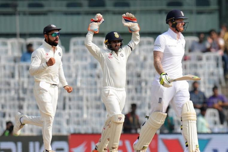 Ben Stokes scored just 6 before being dismissed by R Ashwin. (AFP Photo)