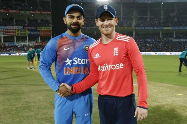 England captain Eoin Morgan opted to field against Virat Kohli-led India. (BCCI Photo)