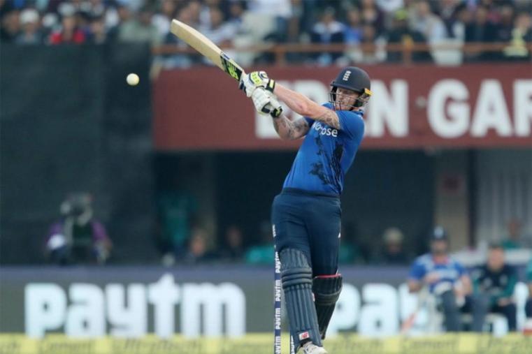Ben Stokes hit an unbeaten 39-ball 57 to help England post 321-8 after being put into bat at Kolkata's Eden Gardens. (BCCI Photo)