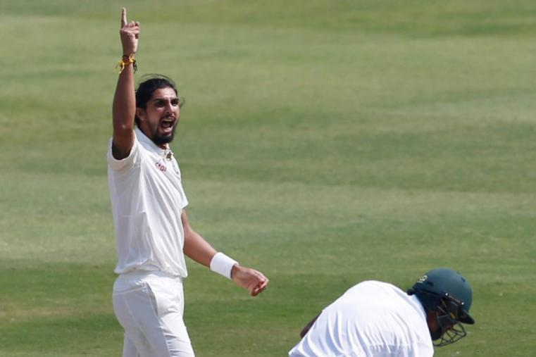 Ishant Sharma sent back Mahmudullah shortly after the drinks break to reduce Bangladesh to 109/4. (AP Photo)