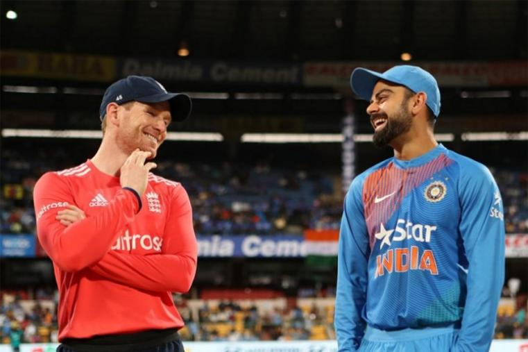 England captain Eoin Morgan opted to field against Virat Kohli-led India in the third and final T20I in Bengaluru. (BCCI Photo)