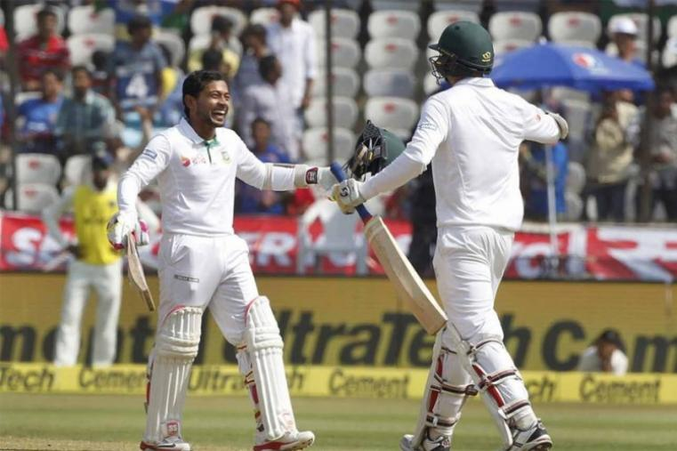 Skipper Mushfiqur Rahim went on to post his fifth century in Test cricket. He scored 127. (BCCI Photo)