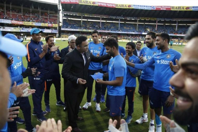 Teenaged hard-hitting wicketkeeper-batsman Rishabh Pant was handed his debut for the series decider, replacing Manish Pandey with the teams locked at 1-1 after the first two games. (BCCI Photo)