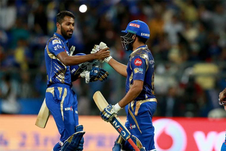 Extending their winning streak to four matches, Mumbai Indians defeated Gujarat Lions by six wickets in an Indian Premier League. (BCCI Photo)