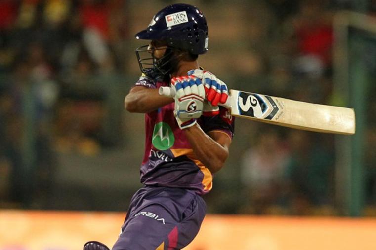 Rahul Tripathi scored 31 off 23 balls before being dismissed by Pawan Negi. (BCCI Photo)
