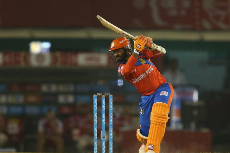 Dinesh Karthik (35* off 23 balls) played a short cameo towards the end as Gujarat Lions reached 192 for four in 19.4 over in their pursuit of 190. (BCCI Photo)