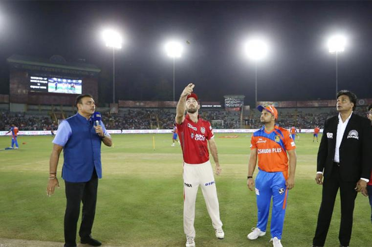Gujarat Lions opted to field against Kings XI Punjab. (BCCI Photo)