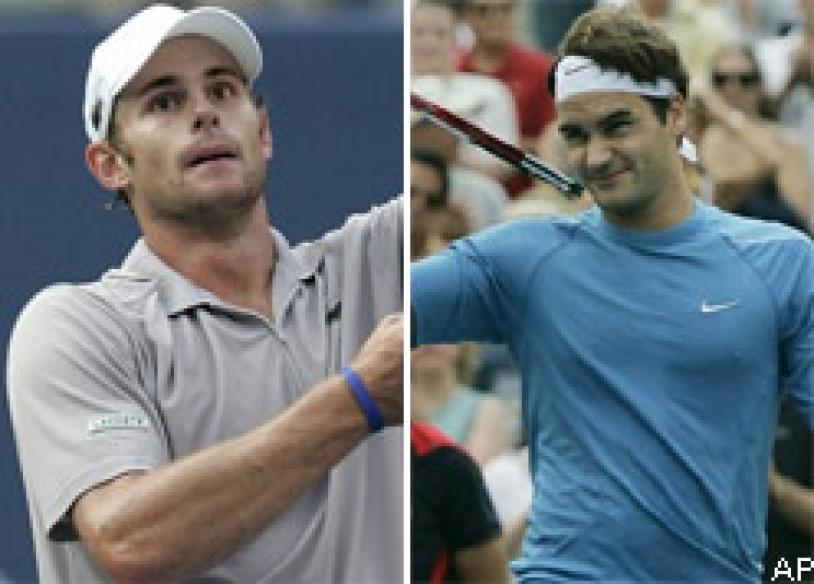 Roddick, Federer face off in semis