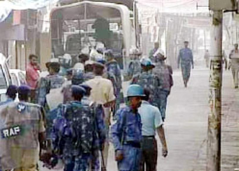 AMU students set afire vehicles, shops
