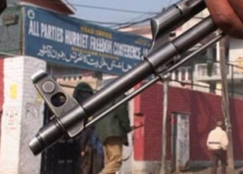 Hurriyat HQ attacked in Srinagar