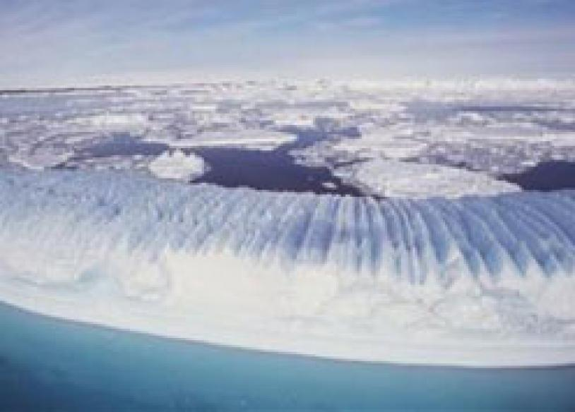 Antarctic ice sheet is thinning