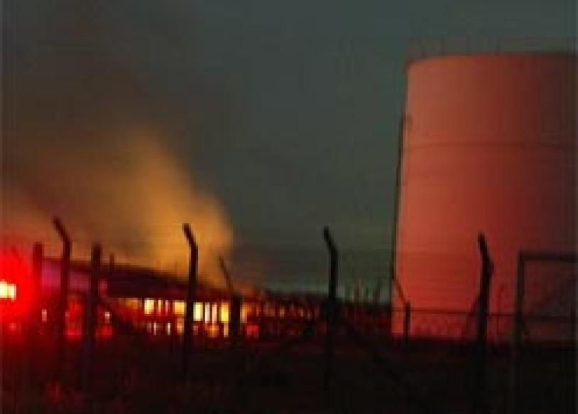 LTTE attacks oil facilities in Colombo